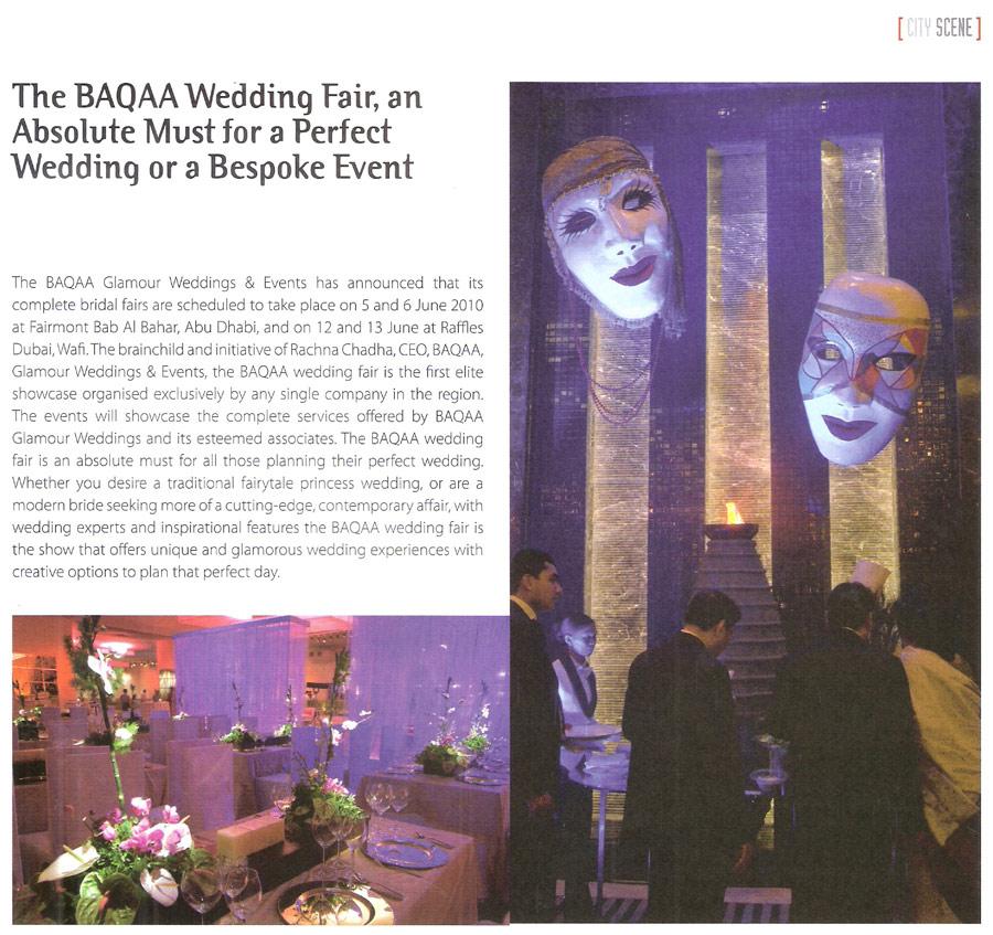 BAQAA IN THE PRESS